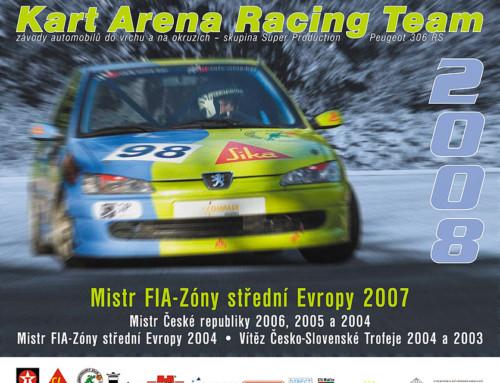 Nástěnný kalendář Kart Arena Racing Teamu
