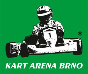 Barevná verze logotypu KART ARENA BRNO