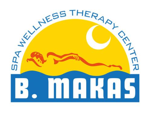 Logotyp spa awellness B. Makas – turecké lázně