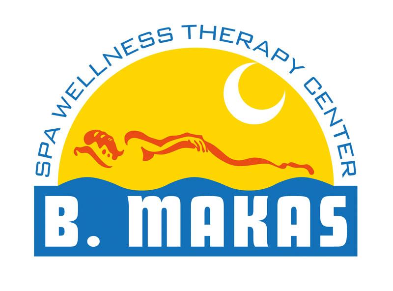 Barevná verze logotypu B.Makas