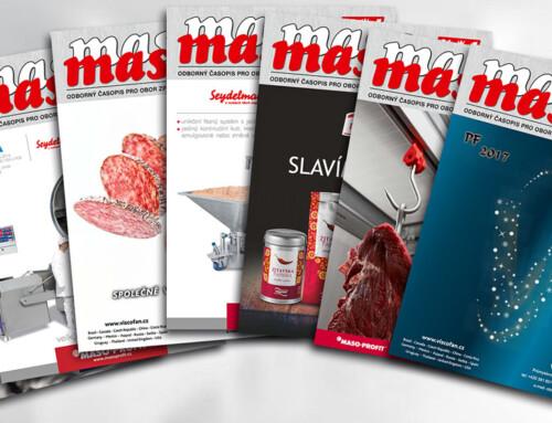 Odborný časopis Maso 2016 pro obor zpracování masa, 7 čísel