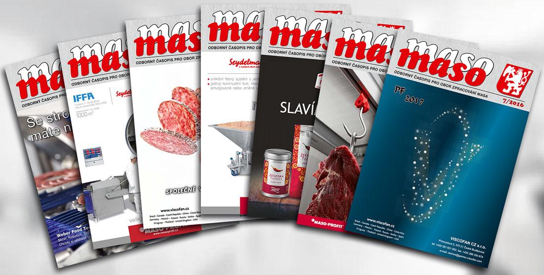 Oborový časopis Maso, ročník 2016
