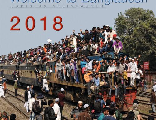 """Nástěnný kalendář """"Welcome to Bangladesh 2018"""""""