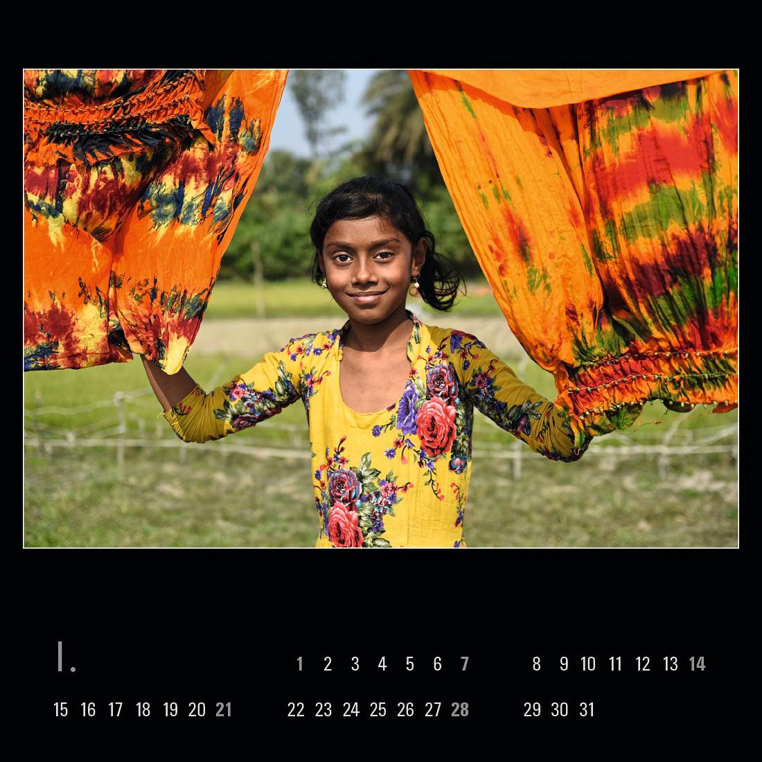 """Kalendář """"Welcome to Bangladesh 2018"""""""