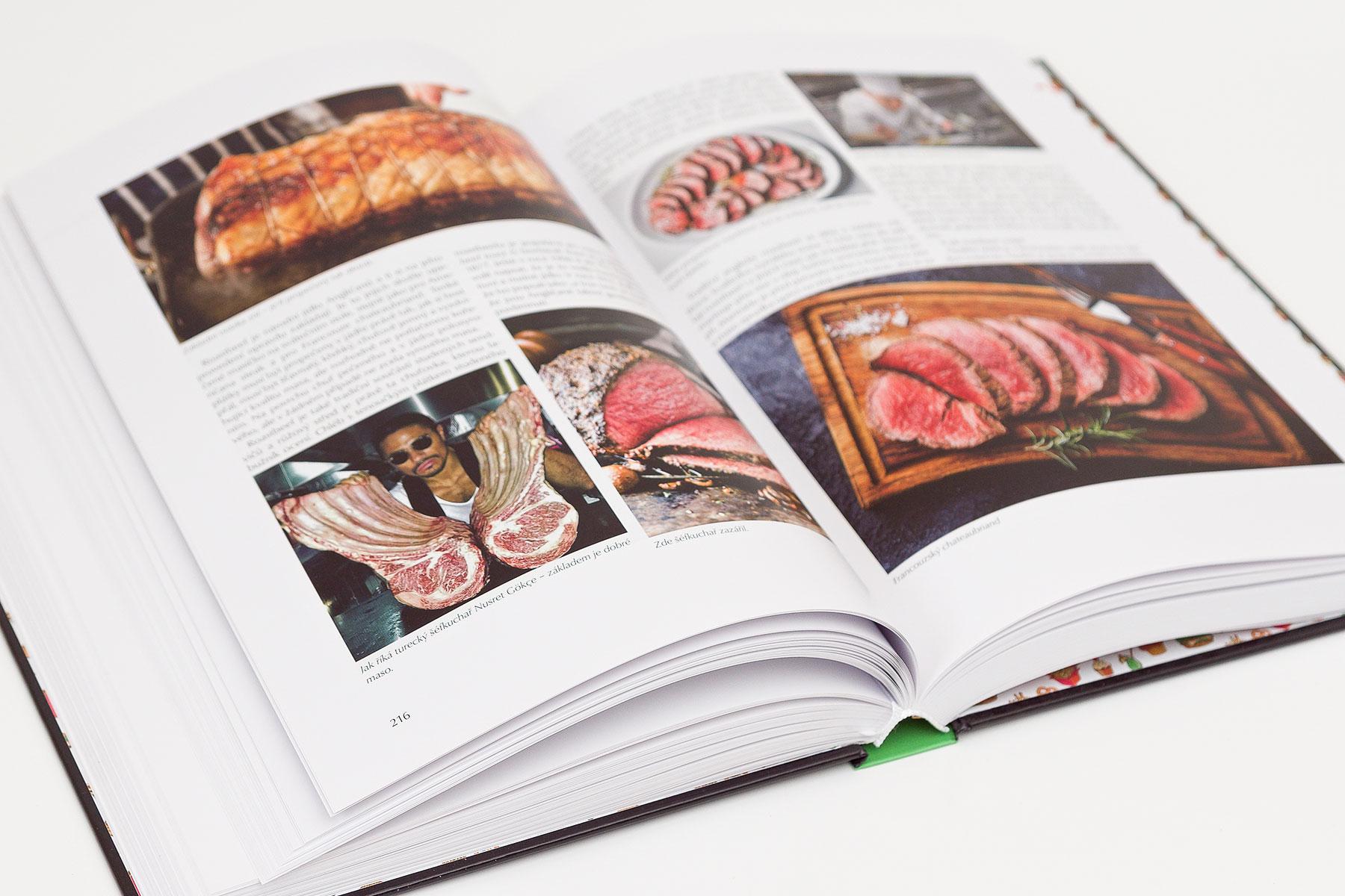 Kniha Příběhy potravin