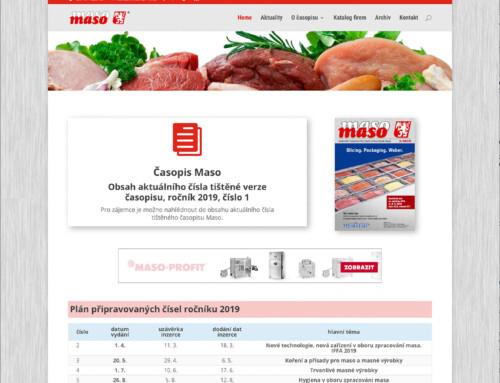 Internetový magazín Maso.cz