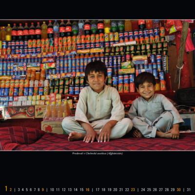 Prodavači v Cholmské soutěsce (Afghánistán)