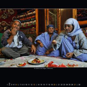 Na obědě u Lulů (Kagan, Uzbekistán)