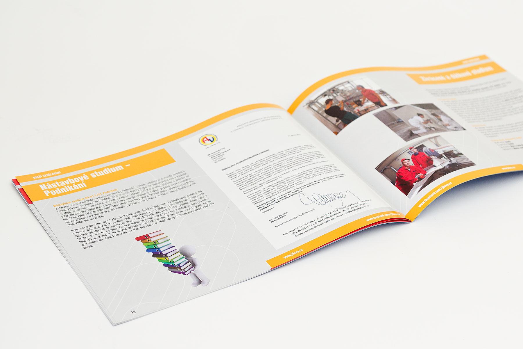 Brožura studijních oborů