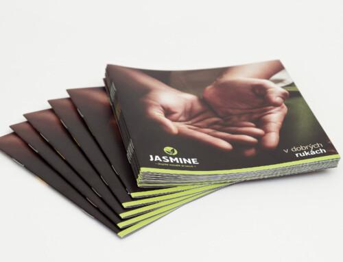 Brožura thajských masáží Jasmine Spa