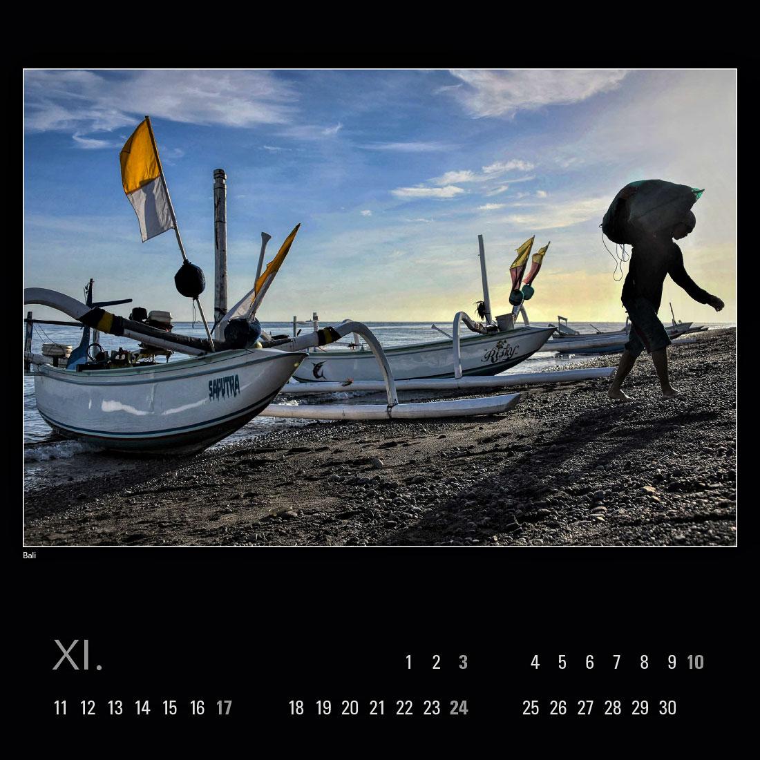 Kalendář 2019 – Bali