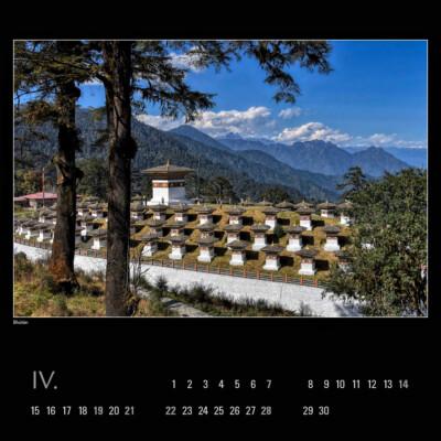 Kalendář 2019 – Bhútán