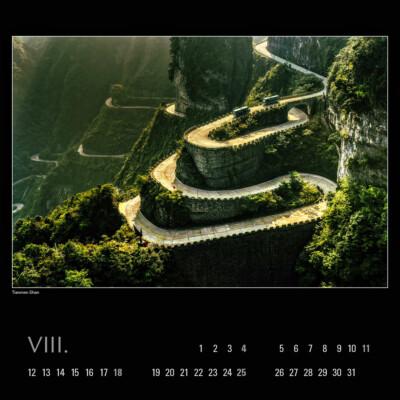 Kalendář 2019 – Tianmen Shan