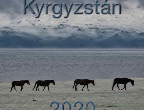 Nástěnný kalendář Kyrgyzstán 2020