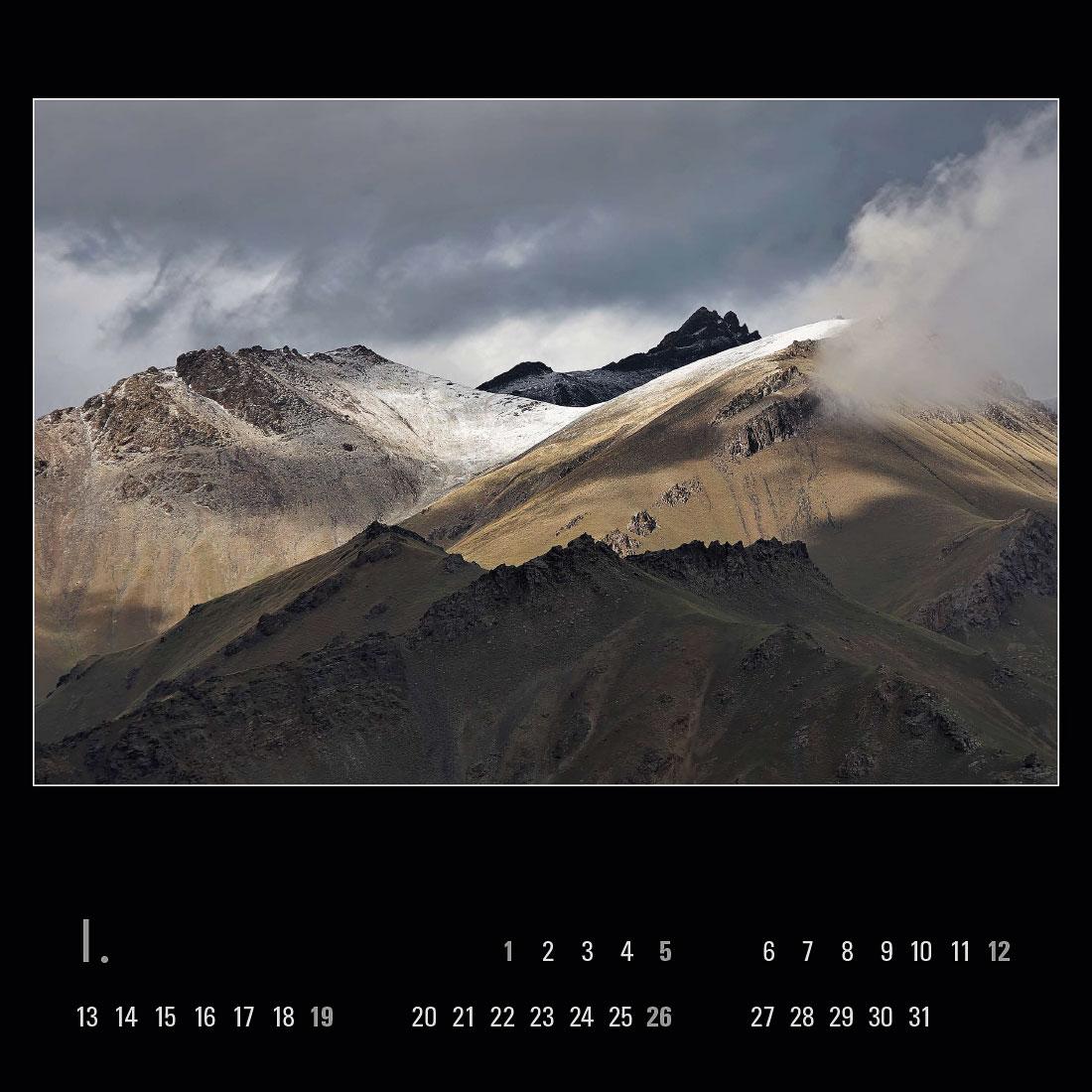 Kalendář – Kyrgyzstán 2020