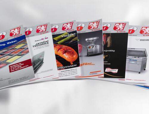 Odborný časopis Maso 2019 pro obor zpracování masa, 7 čísel